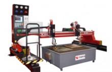 A máquina de corte CNC