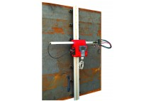 HNC-100K vertical magnétique portable plasma CNC et la machine de découpage au chalumeau