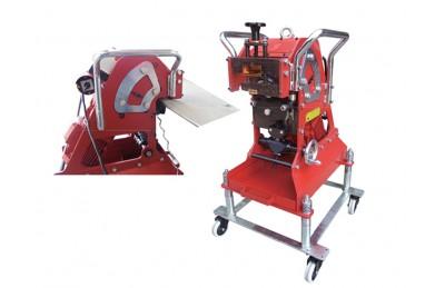 Model CHP otomatis berjalan mesin piring pakan beveling