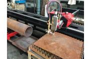 XG-300J profilage de tube CNC et la machine de coupe en forme de plaque 3 axe