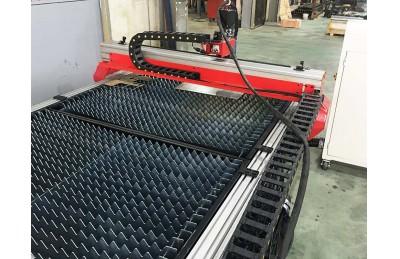 TNC Ekonomis Model meja mesin CNC plasma cutting