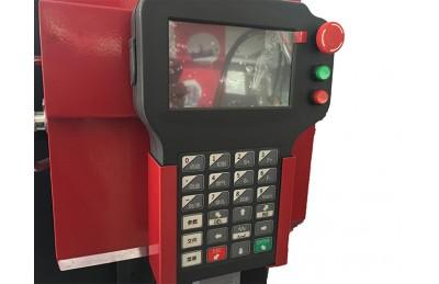 HNC-100K portabel magnetik vertikal CNC plasma dan pemotongan api mesin