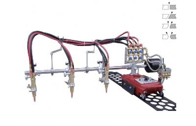 Trois GCD3-100 torche machine à coupe droite