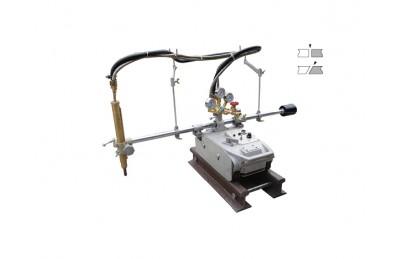 CG1-75 pista de guía recta de la máquina de corte de gas de oxi-combustible para la placa de corte grueso cartón grueso