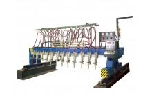 CG1-4000 multi Torch Lurus Jalur Mesin Plat Cutting