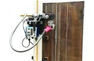 HK-100KE Vertical puntada recta tractor de soldadura de oscilación con el regulador desplazable