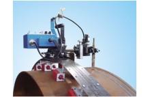 HK-100S Rails flexíveis faixa da tubulação do tanque Welding Tractor com Oscillate Tocha Titular