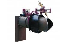 HK-203 forme de profilage de tube intersection de tuyau portable machine de découpe de coupe