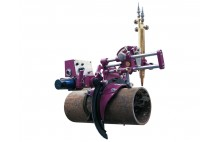 HK-305 perfil grande tubo Diámetro del tubo forma la máquina de corte oxi-combustible