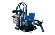 HK-5W Wel-Handy semi-automatizada Weaving Welding Tractor para Fillet Placa