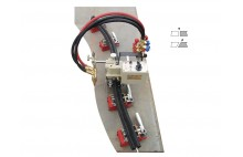 Máquina de corte por oxi-combustible 3D HK-72T tridimensional con la oruga flexible