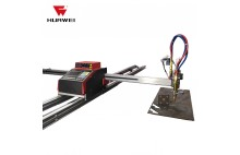 HNC-1500W-J-3 Portable CNC Plasma dan Mesin Gas Cutting