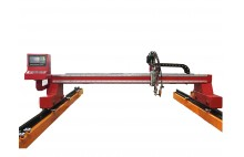 HNC-2500W Ekonomis Cahaya Gantry CNC Plasma & Oxy-Fuel Mesin Plat Cutting